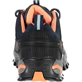 CMP Campagnolo Rigel WP Chaussures de trekking basses Femme, b.blue-giada-peach